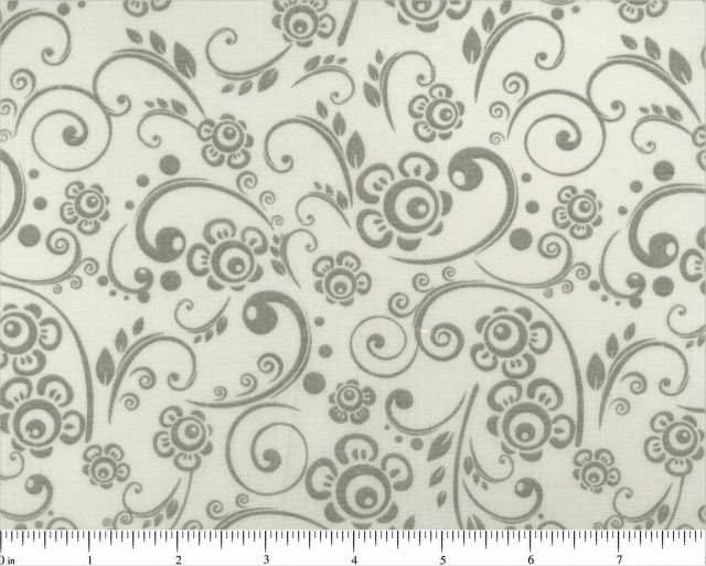 108 Grey Swirls by Choice Fabrics