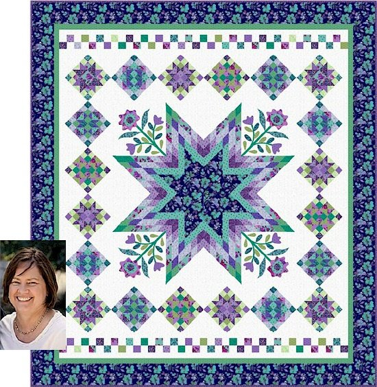 Harmony Block of the Month by Nancy Rink Pay In Full Option (Register First)