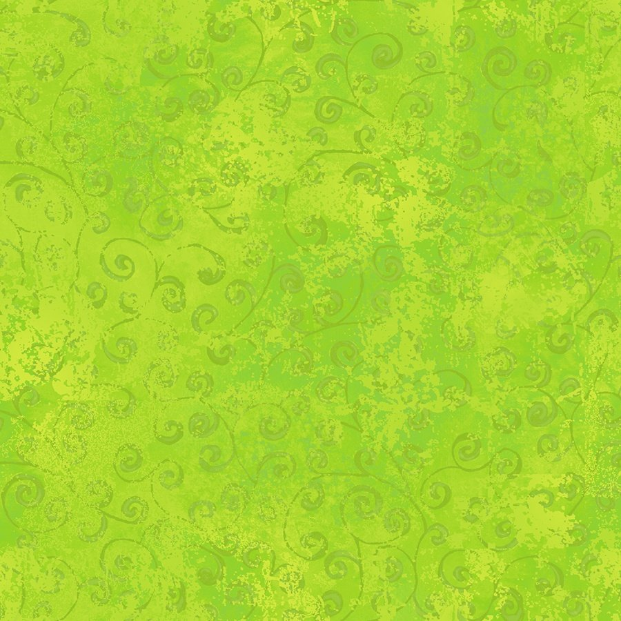 Quilting Temptations in Lime by Quilting Treasures