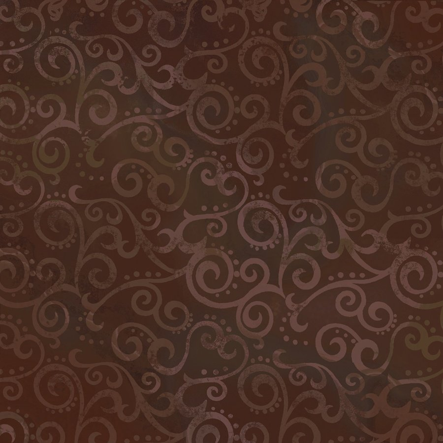 Ombre Scroll in Root Beer by Quilting Treasures