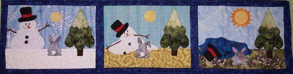 Pattern Patient Bunny by Tish Wright for Cotton Candy Quilts