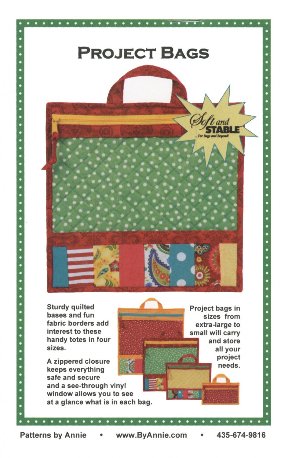 Project Bags by Annie