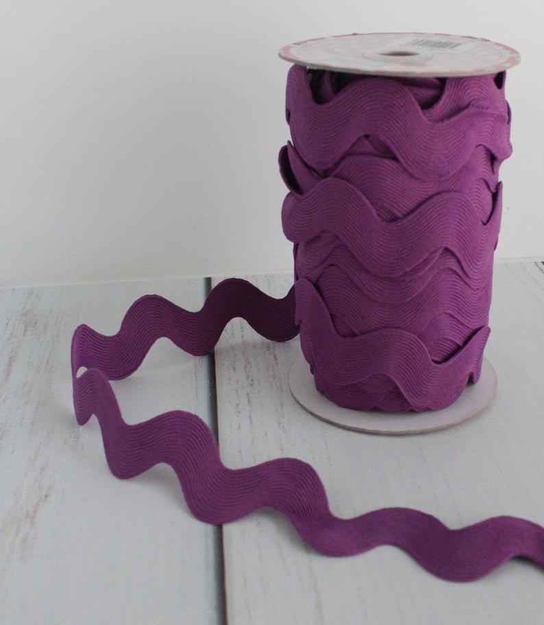 Jumbo Rick Rack Purple