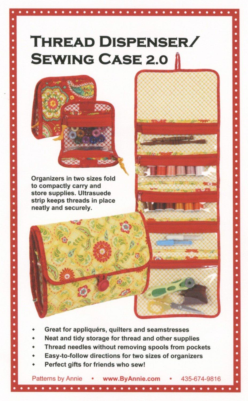 Thread Dispenser/Sewing Case 2.0 by Annie