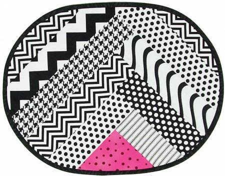 Pattern Zig Zag Placemat by Cut Loose Press