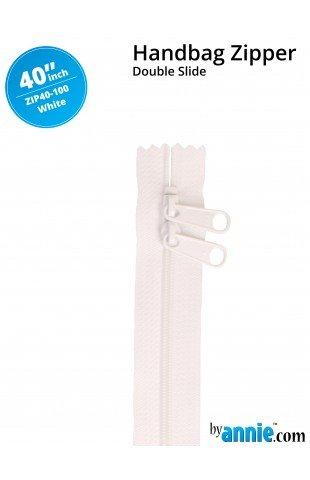 40 Double Slide Bag Zipper by Annie