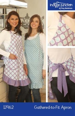Gathered-to-Fit Apron pattern