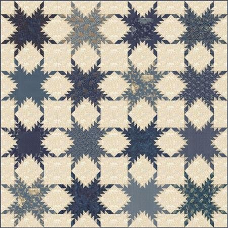 First Flakes Quilt Pattern