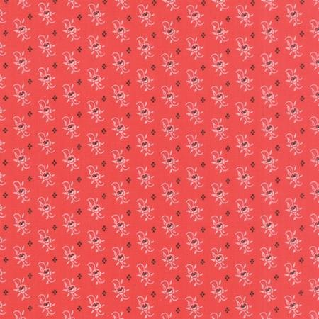 Farmhouse Calico Blossom Tomato Yardage