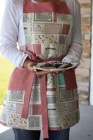 Mix Measure Stir Apron Pattern