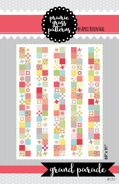 Grand Parade Quilt Pattern