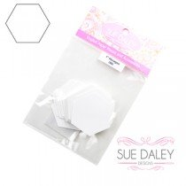 Sue Daley Designs - Hexagon 3/4 Papers only