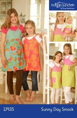 Sunny Day Smock Child's Apron Pattern