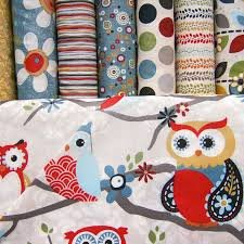 Adornit Nested Owl Charcoal Main, fat quarter