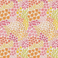Dreamin' Vintage Sweet Meadow Rose Yardage