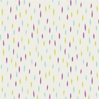 Dreamin' Vintage Jolly Dots Lilac Yardage