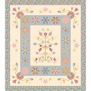 Whimsical Garden Quilt Pattern