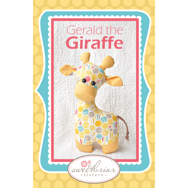 Gerald the Giraffe Stuffed Animal Pattern