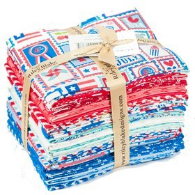 Star Spangled Fat Quarter Bundle