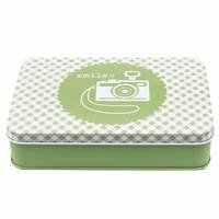 Bee In My Bonnet Green Sewing Tin