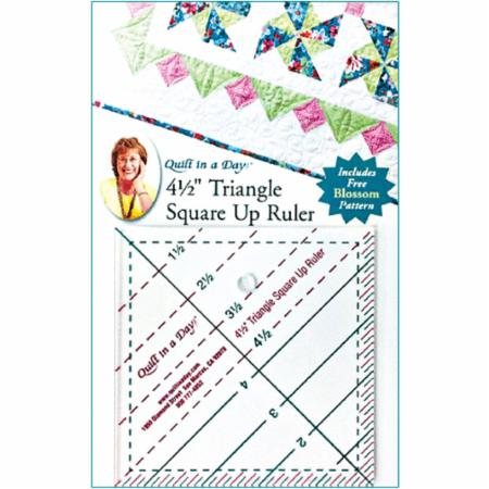 4 1/2 Triangle Square Up Ruler