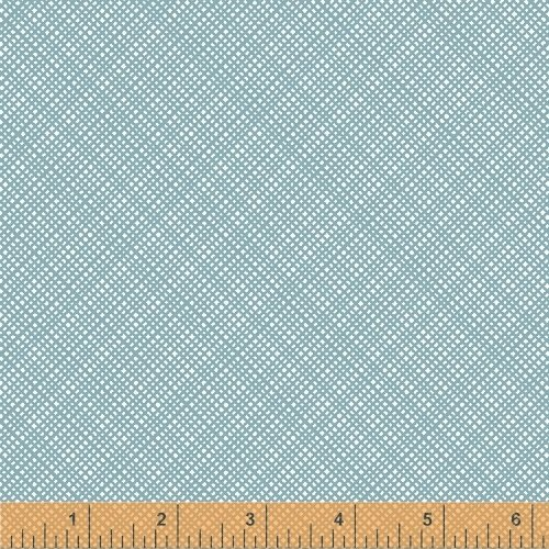 Oh Clementine Texture Teal Yardage