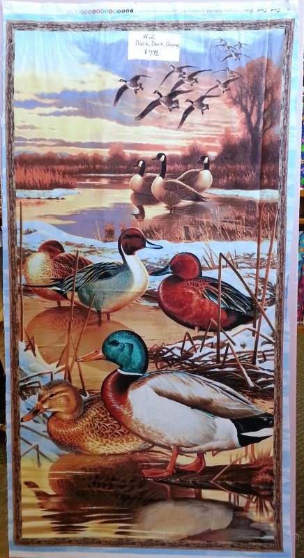 Duck, Duck, Goose Panel
