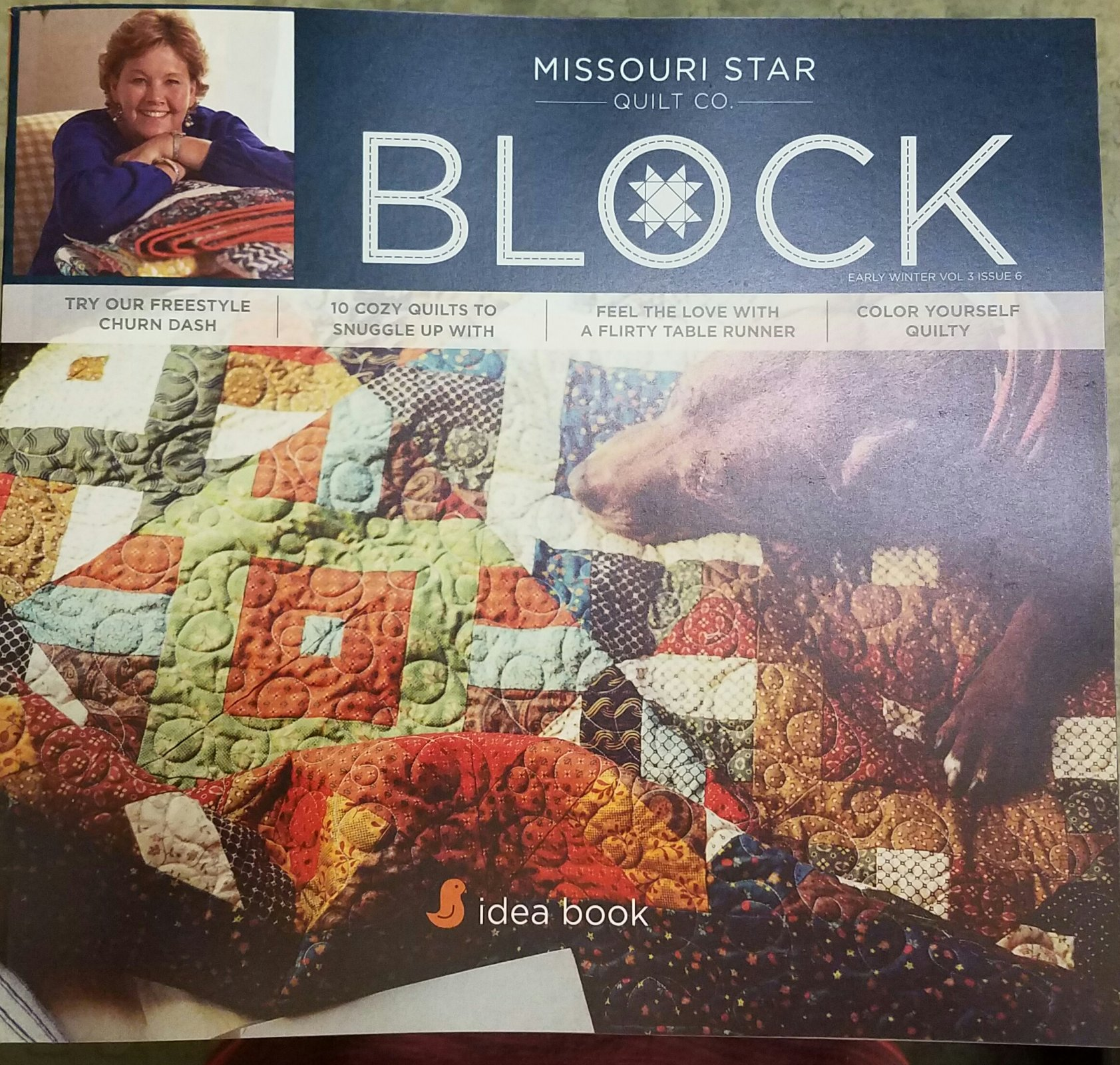 Missouri Star Block Idea Book Early Winter 2017