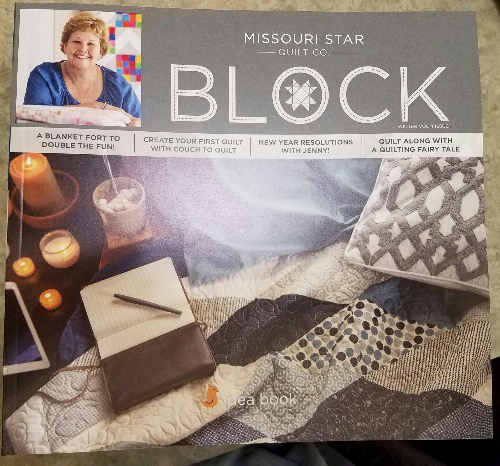 Missouri Star Block Idea Book Winter 2016