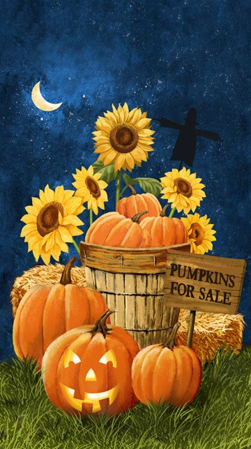 Pumpkins for Sale Panel