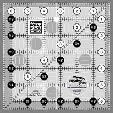 6 1/2 X 6 1/2 Creative Grids Square up Ruler