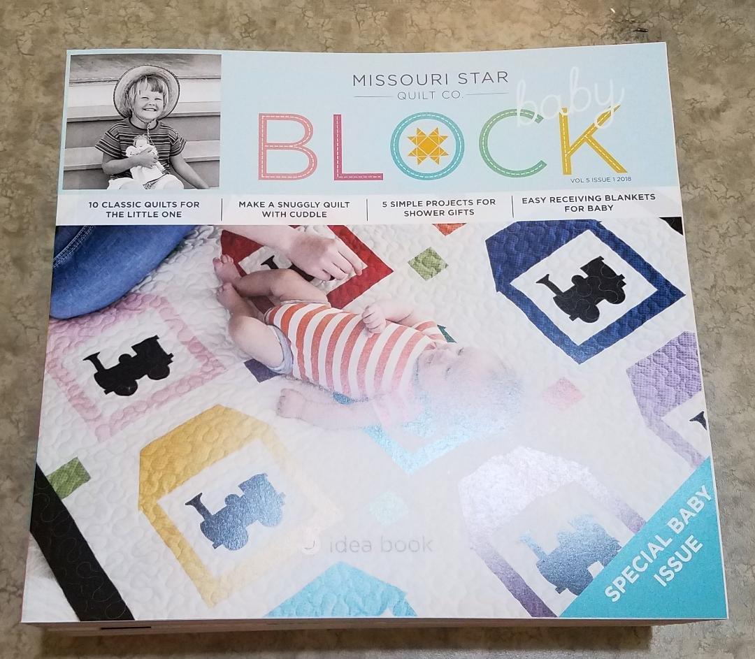 Missouri Star Block Idea Book Baby Issue