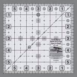 6x 6 Creative Grids Ruler