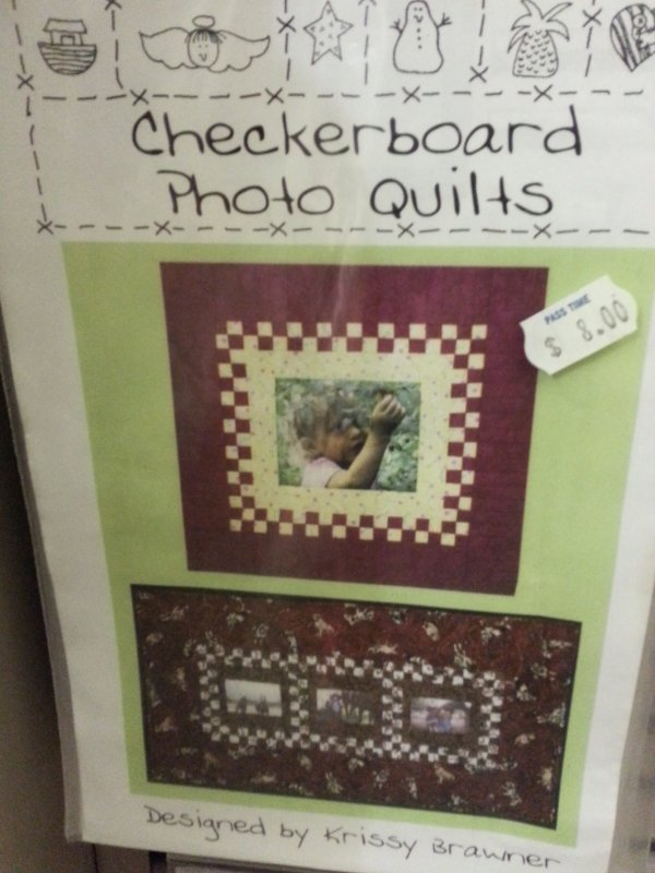 Checkerboard Photo Quilts