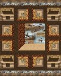 Wild Pheasants Quilt Kit