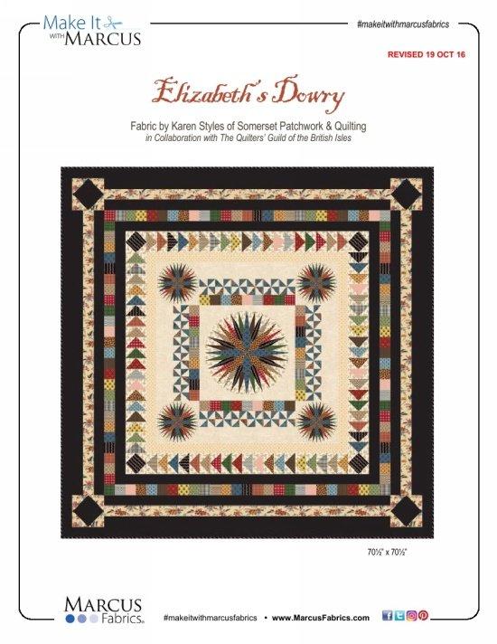 Elizabeth's Dowry Quilt Kit