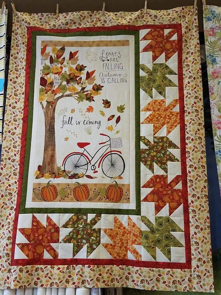 Autumn Road Quilt Kit