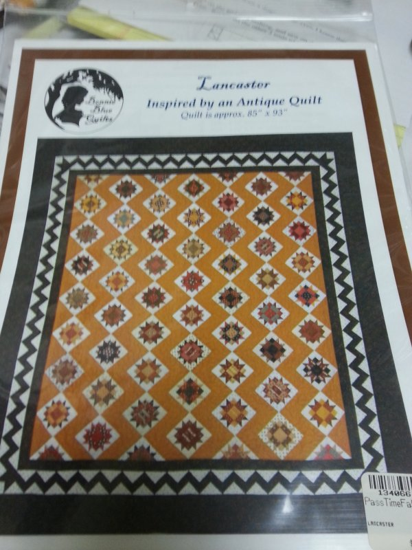Inspired by an Antique Quilt Pattern by Bonnie Blue Quilts : lancaster quilts - Adamdwight.com
