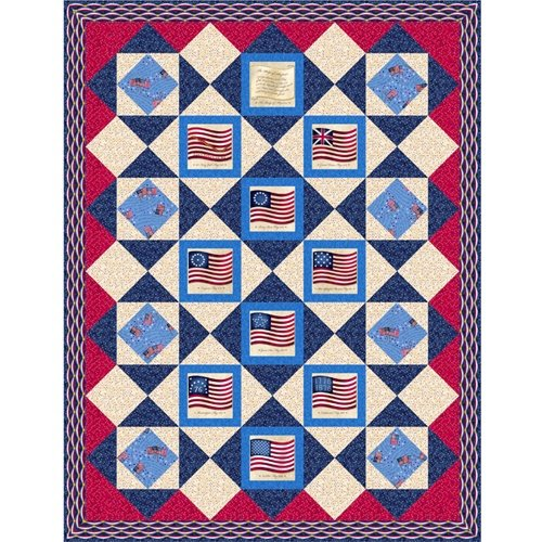 Long May She Wave Quilt Kit