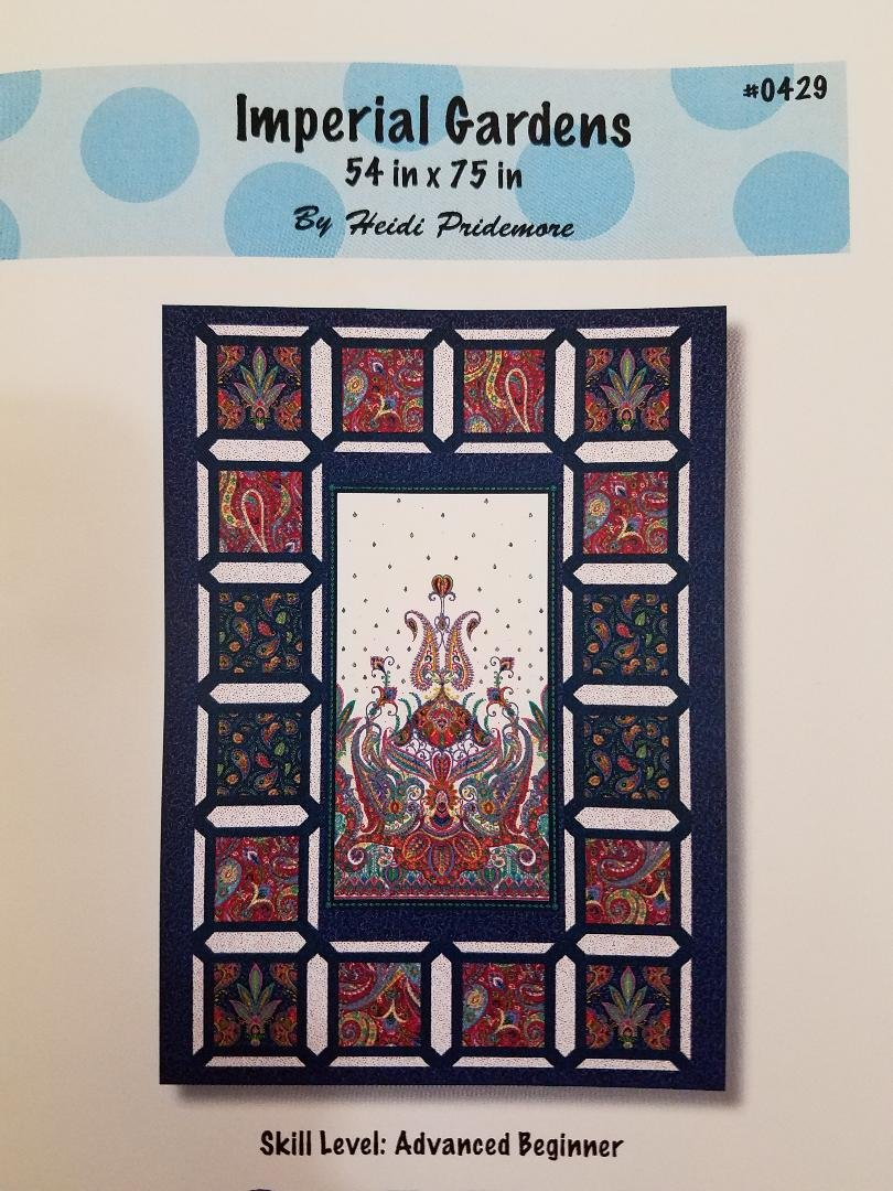 Imperial Paisley Quilt Kit