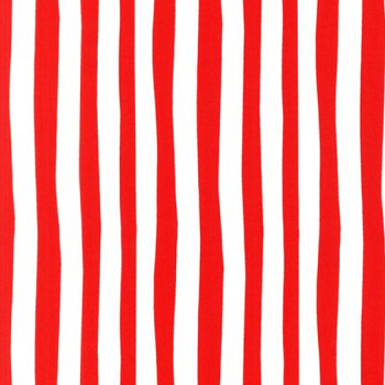 Celebrate Seuss! Robert Kaufman ADE-10792-3 Red