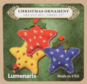 Lumenaris Christmas Ornament Stars