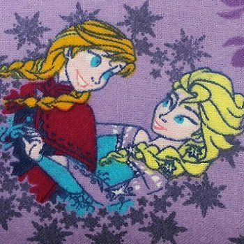 Disney Frozen Sisters Ice Skating Snowflake Flannel 53210D430710