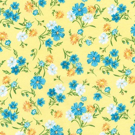 Wildflowers Sunshine FLH-20289-130 Flowerhouse Wildflowers Robert Kaufman