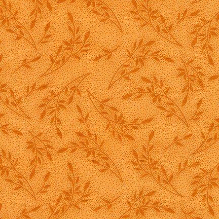 Wildflowers Orange FLH-20292-8 Flowerhouse Wildflowers Robert Kaufman