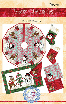 Frosty Christmas by P3 Designs P3-178