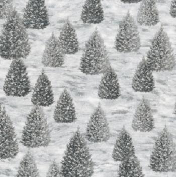 Winter White:  Solstice Grey AWHM-18407-12 Robert Kaufman