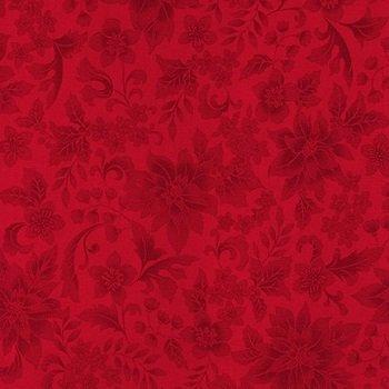 Holiday Flourish 12 Red by Robert Kaufman  APT-18337-3