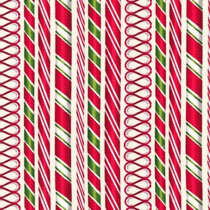 Holly Jolly Christmas 6  Robert Kaufman AMK-16652-15 Ivory