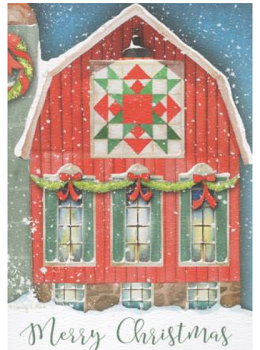 Merry Christmas Cards (box of 10)